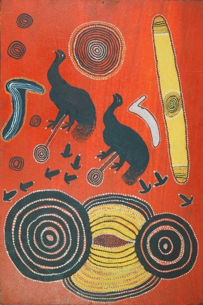 Charlie Tararu Tjungurrayi, Emu Ancestor