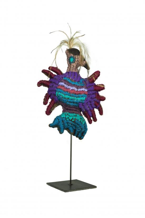 Nannette Sharpe, Purple Bird, 2021