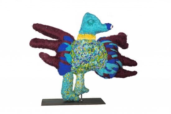 Marlene Rubuntja, Bird with Purple Legs, 2021