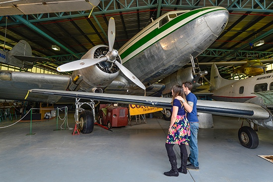 Central Australian Aviation Museum - Bellman Hangar