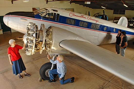 Central Australian Aviation Museum - ConnellanHangar