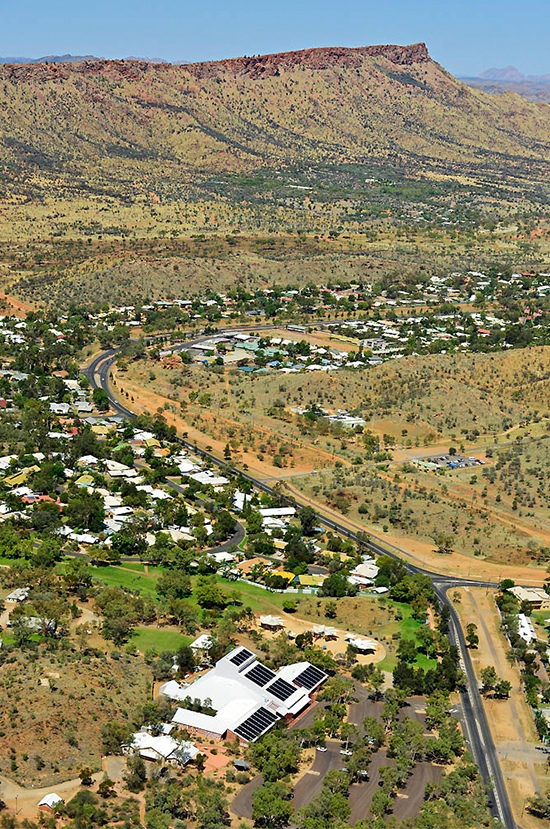 Araluen Cultural Precinct and MacDonnell Ranges