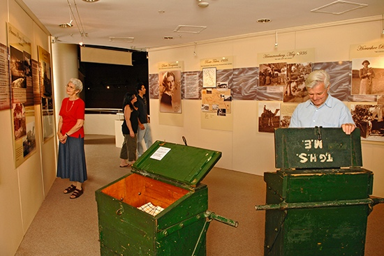 Strehlow Research Centre Display