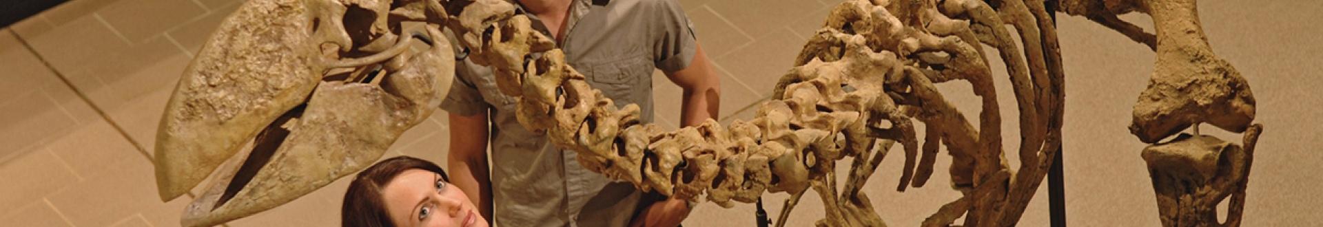Museum of Central Australia Skeleton