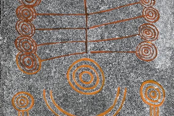 Marshall Japangardi Poulson, Warlukurlangu Artists, 2021
